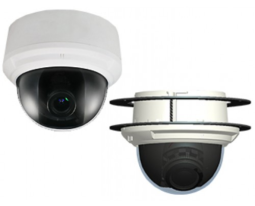 2MP IR Indoor Dome IP Camera with Motorized Optical Zoom & SmartMonitor™ Video Output