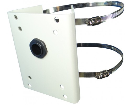 Pole Mount for EXSP100 Series, & EXSP324/444 Series PTZ Cameras