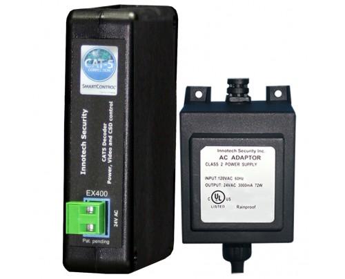 4 Channel SmartControl® CAT5 Decoder Kit