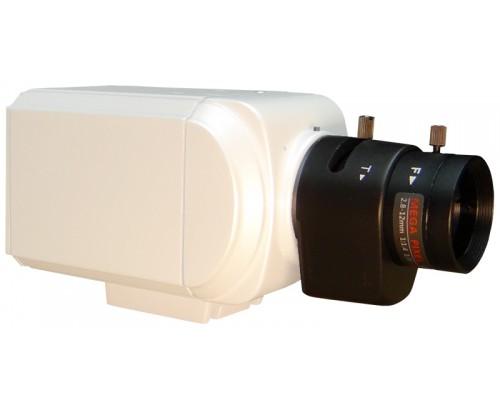 BNC Standard Body Camera - P2 Sensor WDR 12 VDC/24 VAC
