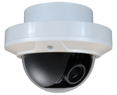 SmartTVI™ Dual Connect HD-TVI/Analog Indoor Dome Camera (Recessed Mount)