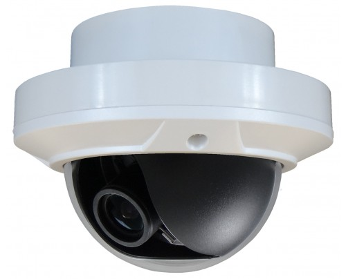BNC Indoor Dome Camera - C Sensor 960H 12VDC (Recessed Mount)