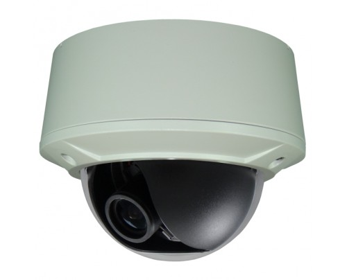BNC Outdoor Vandal Dome Camera - Color@Night® 960H 12VDC