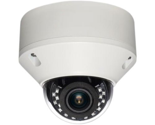 SmartControl® CAT5 2MP Quad Video Format IR Vandal Dome Camera with Deep Storage Base