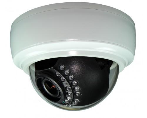 Over 900 TVL Indoor IR Dome Camera 24VAC