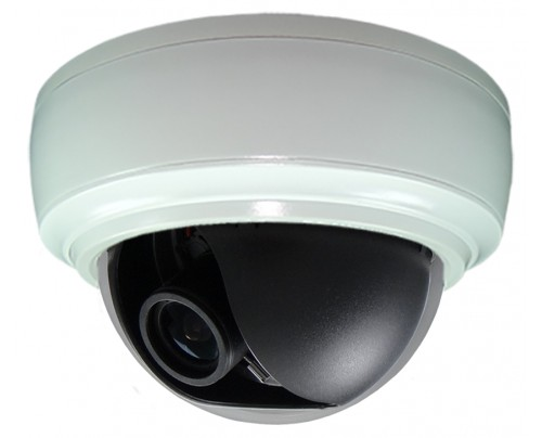 SmartControl® CAT5 Indoor Dome Camera - Color@Night® 960H