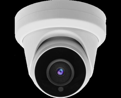 2MP Quad Video Format IR Ball Dome Camera - Motorized Zoom
