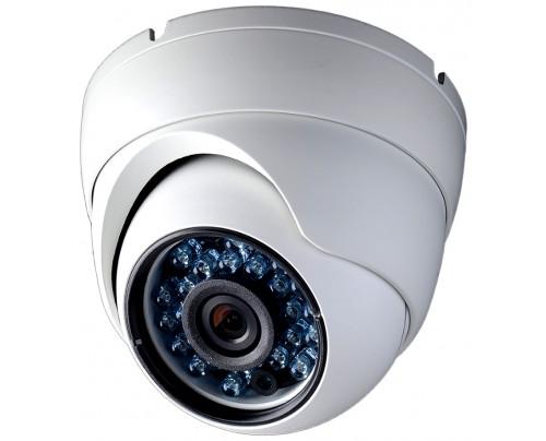 900 TVL Indoor/Outdoor IR Vandal Dome Camera