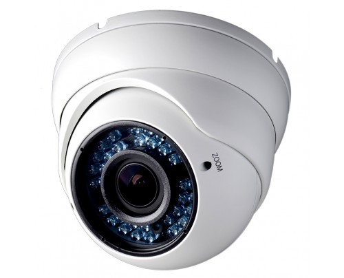 900 TVL Indoor/Outdoor IR Vandal Dome Camera