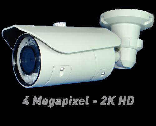 4MP IR Bullet IP Camera with Motorized Optical Zoom & Autofocus