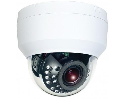 SmartControl® CAT5 Hybrid Dual Tech HD-TVI/Analog Indoor IR Dome Camera