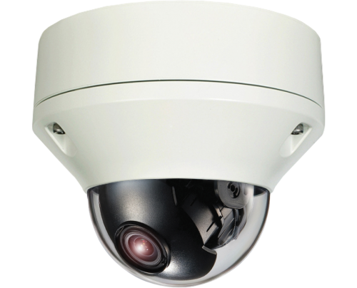 Hybrid Dual Tech HD-TVI/Analog Outdoor Vandal Dome Camera