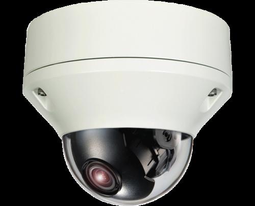 SmartControl® CAT5 Hybrid Dual Tech HD-TVI/Analog Outdoor Vandal Dome Camera