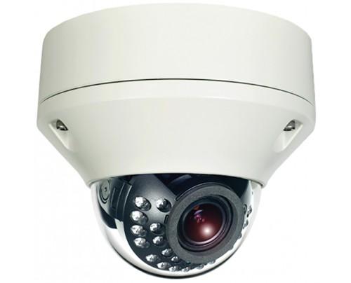 Hybrid Dual Tech HD-TVI/Analog Outdoor IR Vandal Dome Camera