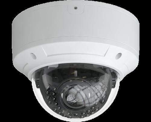 8MP - 4K Quad Video Format IR Vandal Dome Camera