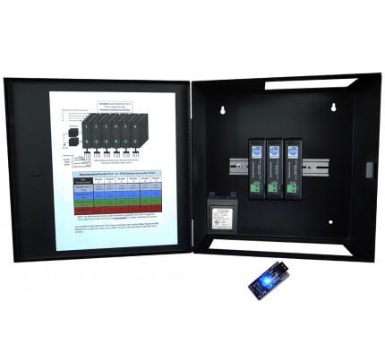 12 Channel SmartControl® CAT5 Decoder / Metal Enclosure