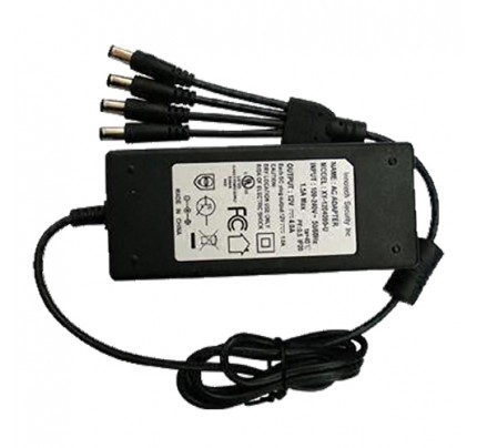 12 VDC Camera Power Supply 4 Channels