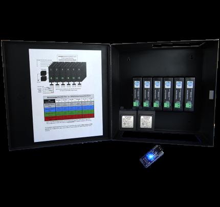 24 Channel SmartControl® CAT5 Decoder / Metal Enclosure