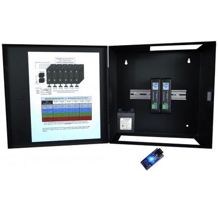 8 Channel SmartControl® CAT5 Decoder / Metal Enclosure