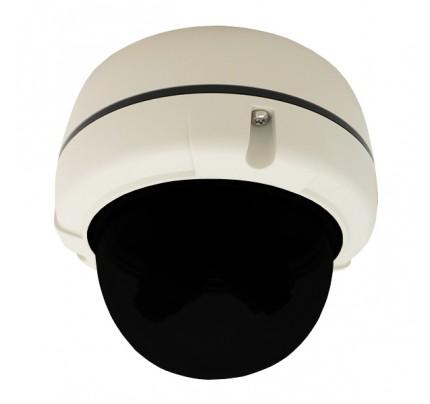 Tri-Camera IP Vandal Dome