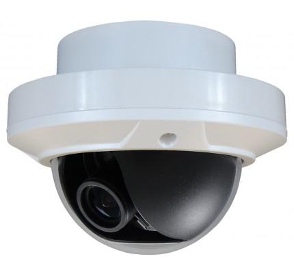 BNC Indoor Dome Camera - P2 Sensor WDR 12VDC (Recessed Mount)