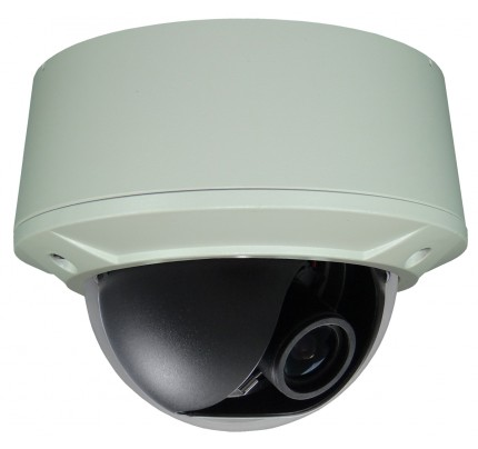 SmartTVI™ Dual Connect HD-TVI/Analog Vandal Dome Camera