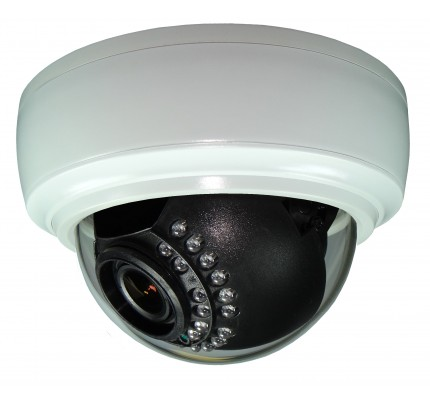 SmartControl® CAT5 Indoor IR Dome Camera, Over 730 TVL