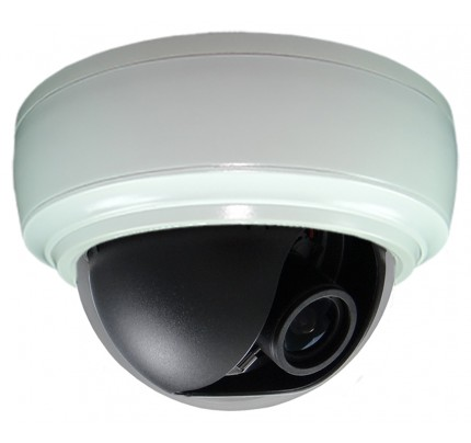 SmartTVI™ Dual Connect HD-TVI/Analog Indoor Dome Camera