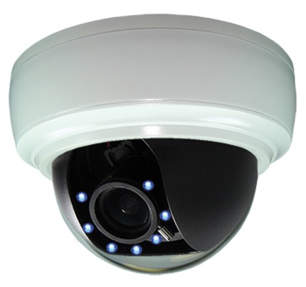 Color@Night® 960H Indoor Dome Camera with Motion Activated LED's - 12VDC/24VAC