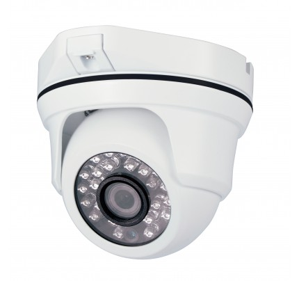 SmartHD 720p IR Ball Dome Camera with 3.6mm Lens