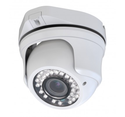 SmartHD 720p IR Ball Dome Camera with 2.8-12mm Varifocal Lens