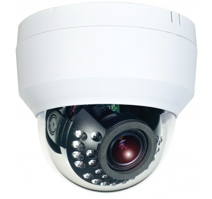 Hybrid Dual Tech HD-TVI/Analog Indoor IR Dome Camera