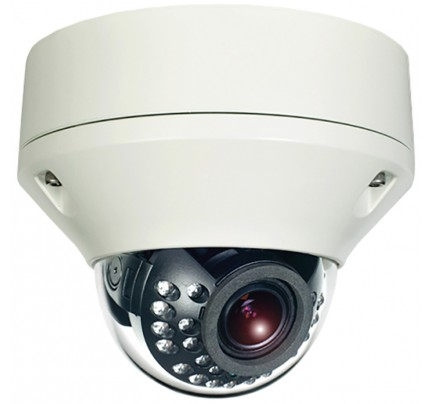 Hybrid Dual Tech HD-TVI/Analog Outdoor IR Vandal Dome Camera