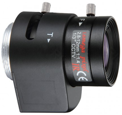 2.8 - 12mm Auto Iris Varifocal Lens